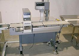 Weight & Metal Inspection Machine