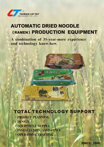 Automatic Dried Noodle (Ramen) Production Equipment