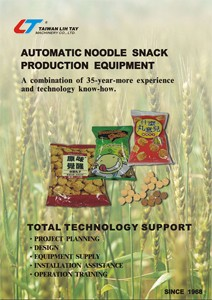 Automatic Noodle Sanck Production Equipment