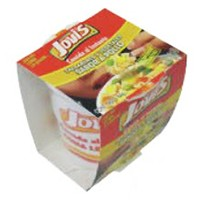 Bowl / Cup of Instant Noodles with Packaging - .