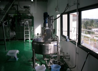 Syrup Preparation Tank