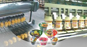 Linha de produção de macarrão instantâneo de tigela (copo)