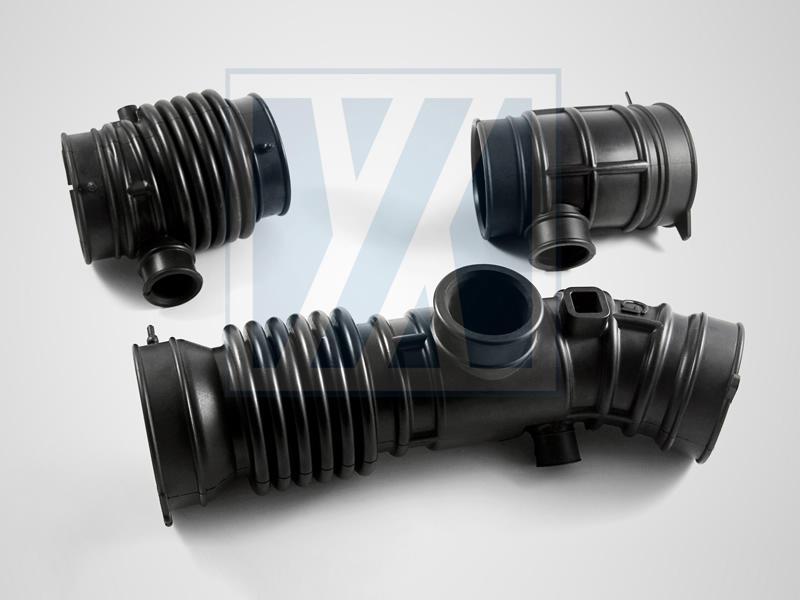進出氣橡膠導管 - 橡膠防塵套, 伸縮套管類