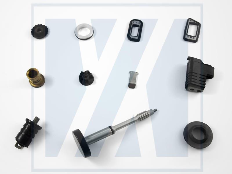 المطاط لربط المعادن - أجزاء المطاط مصبوب مخصص