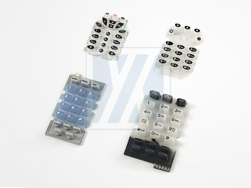 Silicone Rubber Keypad - Keypad and button