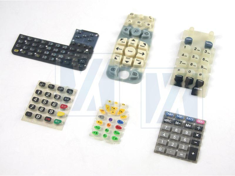 Силиконовая резиновая клавиатура - Клавиатура и кнопка