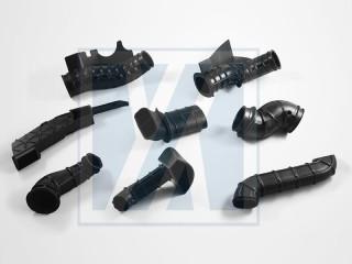 Tubo di aspirazione dell'aria e tubo flessibile del condotto - Tubo di aspirazione dell'aria