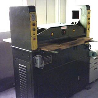 High speed hydraulic cutting machine