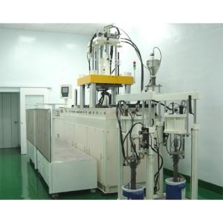 Macchina per lo stampaggio ad iniezione di gomma siliconica liquida