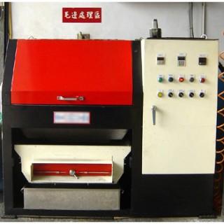 Nitrogen de-flashing machine
