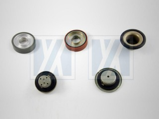 Rubber to Metal Bonding - Rubber Wheel, Gas Cap