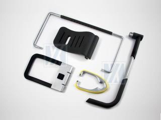 螢幕腳架 - 矽膠與金屬接著品