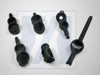Cubierta protectora de goma - Producto deportivo, médico y de consumo de goma.