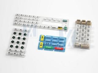 导电矽胶, 按键 - 导电矽橡胶制品