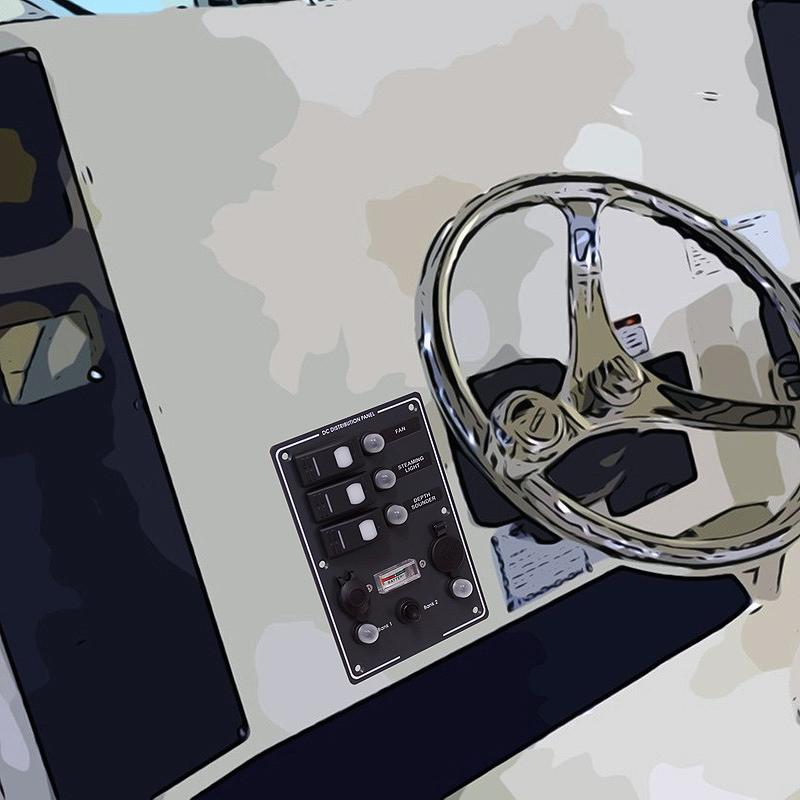 Πίνακες διακοπτών ναυτιλιακής ποιότητας IP55 σχεδιασμένοι για εξωτερική χρήση