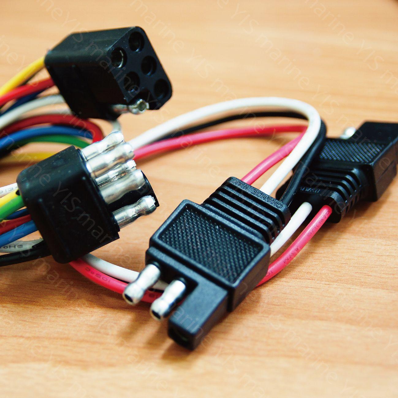 Η YIS κατασκευάζει ηλεκτρικά εξαρτήματα όχι μόνο για σκάφη, αλλά και για αυτοκίνητα, φορτηγά ή τροχόσπιτα.  Αυτή η σειρά περιλαμβάνει προβολείς χειρός, καλώδια τροφοδοσίας και κλιπ μπαταρίας.
