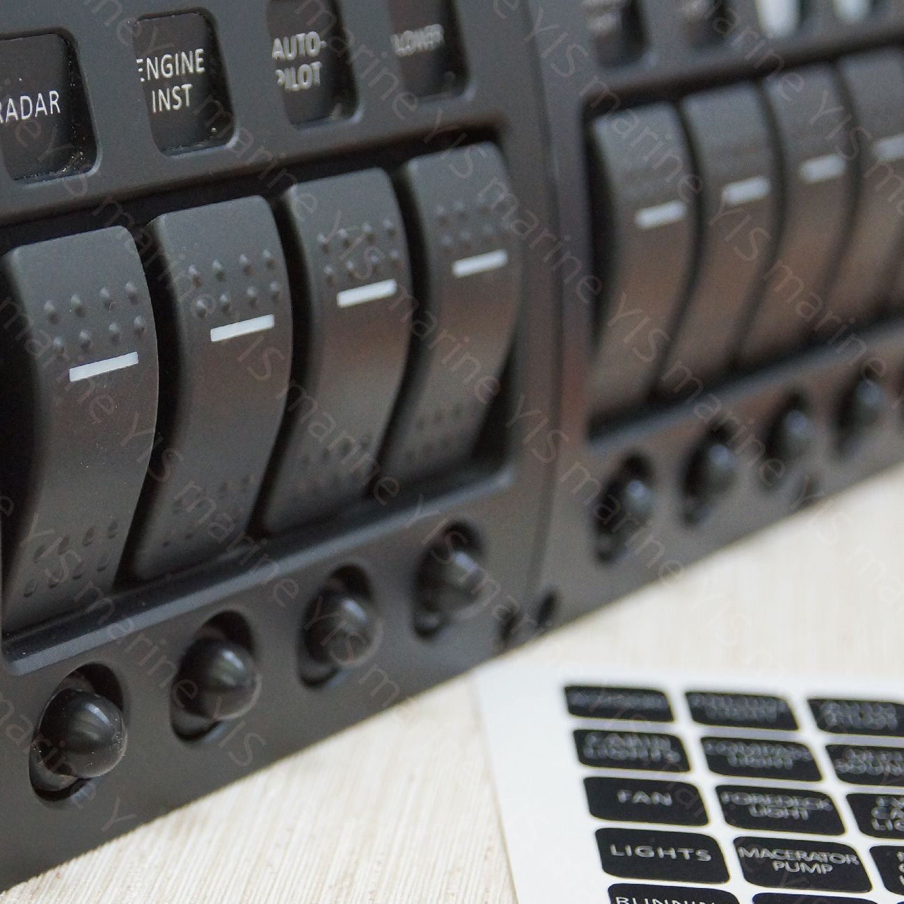 Switch Panels -  Marine Electrical Panels