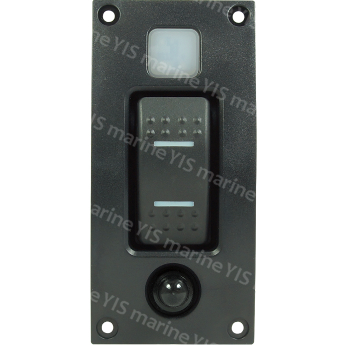 SP3331DT Curved Design Single Branch Switch Panel - SP3331DT