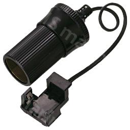 Lead Acid Battery Clip with Cigarette Lighter Socket - AE601-15-Lead Acid Battery Clip with Cigarette Lighter Socket