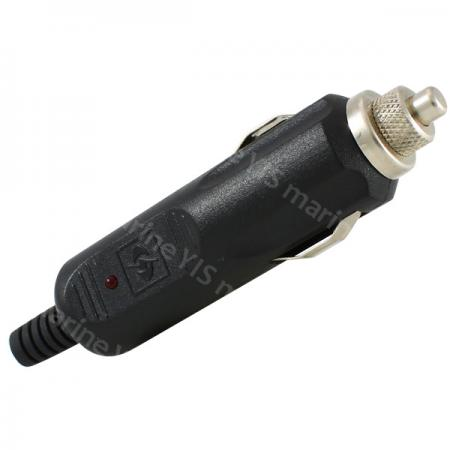 Deluxe Cigarette Lighter Plug - AP111-Deluxe Cigarette Lighter Plug with LED (Fused)