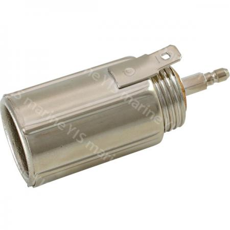 Cigarette Lighter Socket with Retainer - AS202B-Cigarette Lighter Socket (Bullet Terminal)