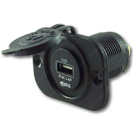 AS233-Однопортовый USB-разъем для зарядного устройства - AS233A-A Морское зарядное устройство USB (1 порт)