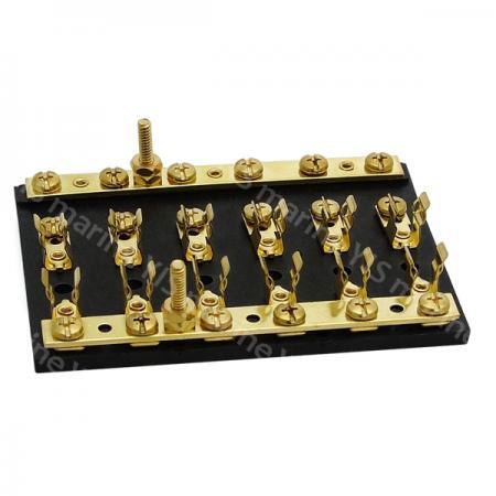 BF202-Nylon Base AGC Fuse Blocks