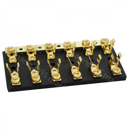 BF206-Nylon Base AGC Fuse Blocks - BF206-6P