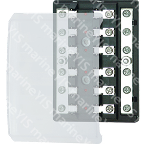 BF210-Modern Design Glass-tube AGC Fuse Blocks - BF210-6P