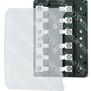 BF211-Modern Design Glass-tube AGC Fuse Blocks - BF211-6P