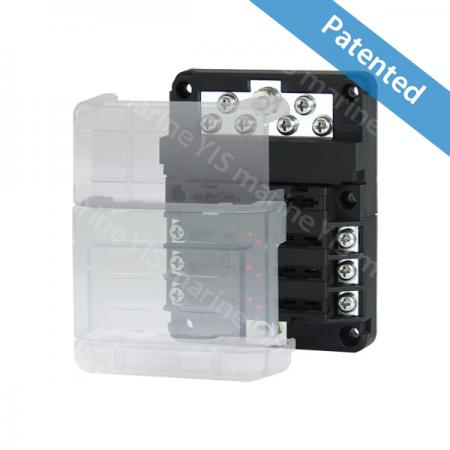 BF273-Modular Design Blade Fuse Blocks - Modular Design Blade Fuse Blocks - BF273