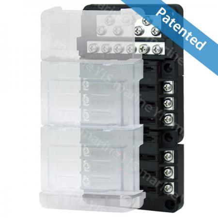BF275-Modular Design Blade Fuse Blocks - Modular Design Blade Fuse Blocks - BF275