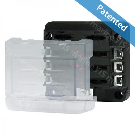 BF281-Modular Design Blade Fuse Blocks - Modular Design Blade Fuse Blocks - BF281