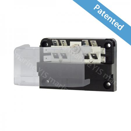 BF282-Modular Design Blade Fuse Blocks - Modular Design Blade Fuse Blocks - BF282