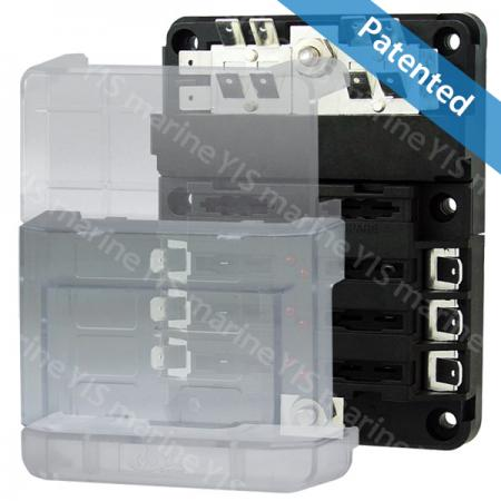 BF283-Modular Design Blade Fuse Blocks - Modular Design Blade Fuse Blocks - BF283