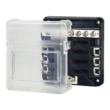 BF286-Modular Design Blade Fuse Blocks - Modular Design Blade Fuse Blocks - BF286