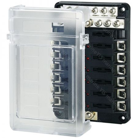 BF287-Modular Design Blade Fuse Blocks - Modular Design Blade Fuse Blocks - BF287
