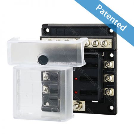 BF295-Modular Design Blade Fuse Blocks - Multi-use Compact Modular Design Blade Fuse Blocks-BF295