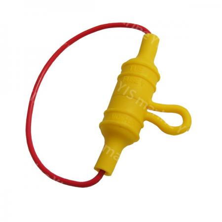 BF308-In-Line AGC Fuse Holder - BF308L (Loop Lead)