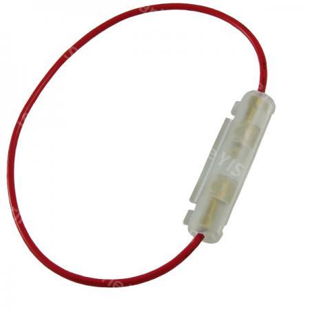 In-Line AGC Fuse Holder - BF310L (Loop Lead)
