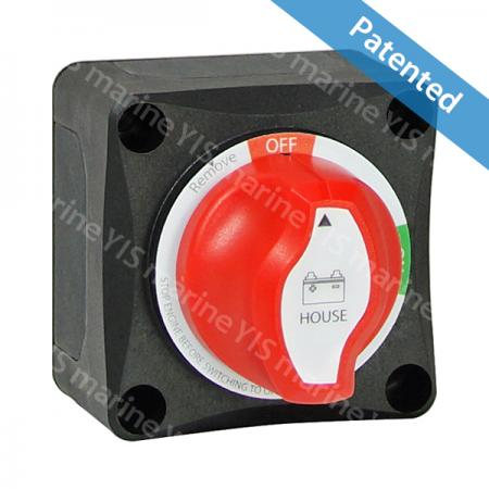 Battery Main Switch (On-Off) - Ignition protected battery switch protection ISO8846 main switches marine caravan mini boat dual with afd BF441 /BF441A (with AFD)