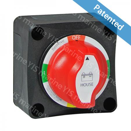 Battery Selector Switch (1-2-Both-Off) - 12v 24v marine boat car battery 3 way selector 4 position dual batterie switch master 1 2 both off 1/2/both BF442 /BF442A (with AFD)