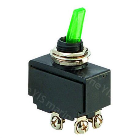 C-66 Illuminated Toggle Switch (Screw Terminal)