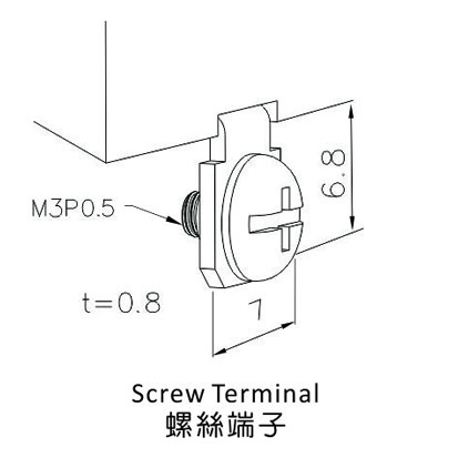 C-6 Series Screw Terminal