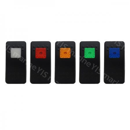 Actuators for C-7 Switches - Actuators with square lens