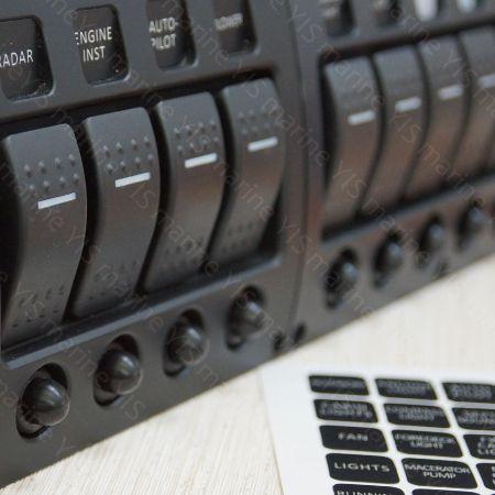 Switch Panels - Switch Panels -  Marine Electrical Panels