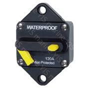 Single Pole Thermal Circuit Breaker - Single Pole Thermal Circuit Breaker Switchable Reset (Manual ON-OFF) -CB-E96