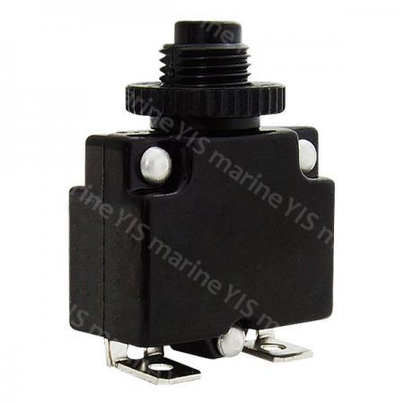 Mini Circuit Breakers - CB-P200PPF-Mini Size Push-Button Manual Reset Circuit Breaker
