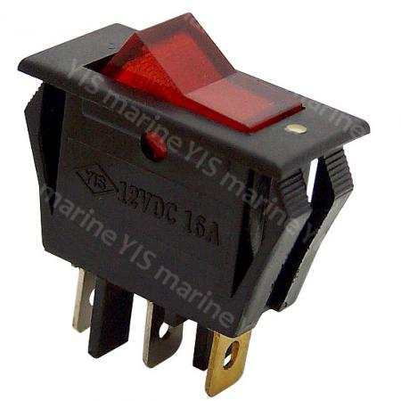 IR-2304-Illuminated Rocker Switch - IR2304-Illuminated Rocker Switch