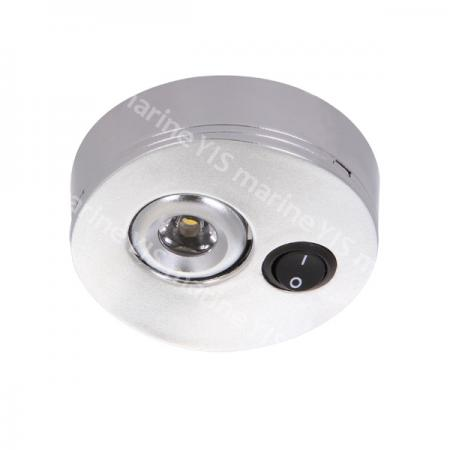 LC002-1W-WaveLED Spotlight - LC002-1W-WaveLED Dual Mount Spotlight